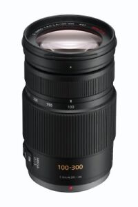 Panasonic Lumix G Vario 100-300mm F/4.0-5.6 OIS Telephoto Lens