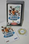Virtua Tennis World Tour PSP