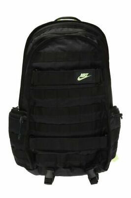 Unisex Nike SB Skateboard SB RPM Backpack BA5971-013 Black/Green NEW