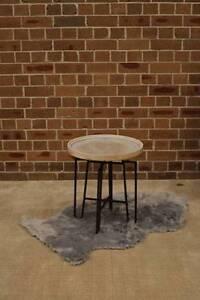 Drum Tables Padiata Set/2★★EX-rental, Display furniture sale★★