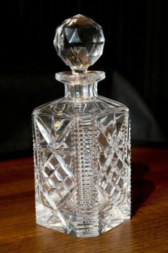 Cut Glass Decanter Ebay