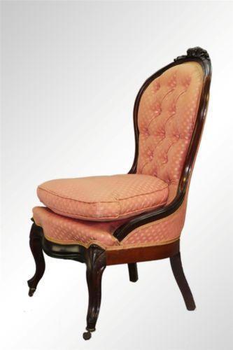 Antique Parlor Chair Ebay