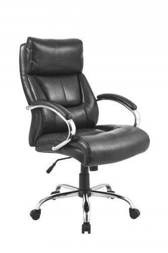 high back black leather executive office chair ebay