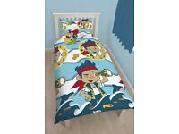 Official Disney Reversible Single Duvet Cover with Matching Pillow Case Bedding Set Size: Single bed
