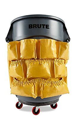 YELLOW ROUND for Brute Caddy Bag Brute Caddy Bag