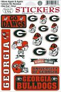 Georgia Bulldogs Stickers