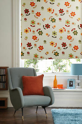 Floral decorative blind