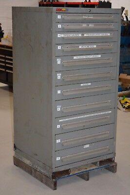 11-drawer Lyon Garage Shop Machinist Tool Tooling Storage Cabinet