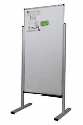 Viz-pro Double-sided Magnetic Stand Whiteboard Office School Dry Erase Board