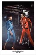 Michael Jackson Signed