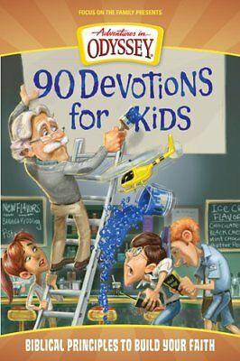 90 Devotions for Kids (Adventures in Odyssey Books) by AIO Team - Adventure Books For Kids