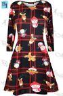 Owl Christmas Dresses (Sizes 4 & Up) for Girls