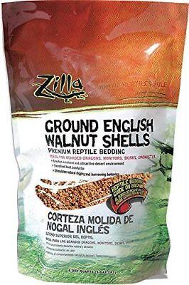 Desert Blend (Zilla Desert Blend Ground English Walnut Shells Reptile Bedding 5, 10, or 25)