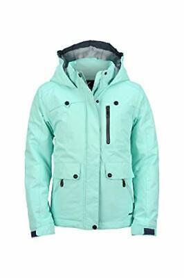 girls jackalope insulated winter jacket island azure