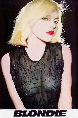 Blondie 1977 Promo Poster print