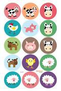 Edible Animal Cake Toppers