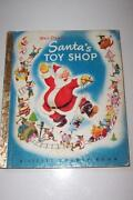 Little Golden Book Santa's Toy Shop