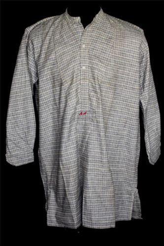 Vintage Collarless Shirt Ebay