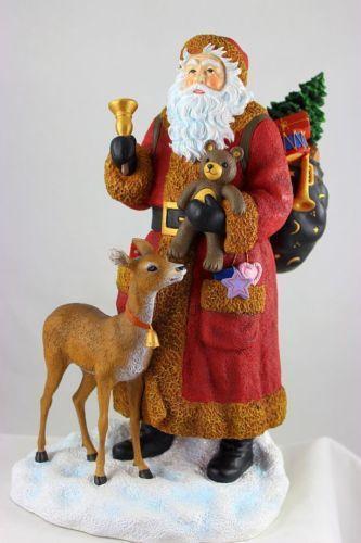 Large santa figurines ebay