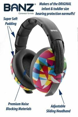 Baby Banz earBanZ Infant Hearing Protection, Geo Print for sale  Springfield