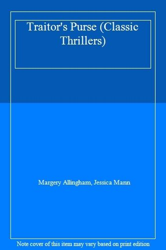Traitor's Purse (Classic Thrillers),Margery Allingham, Jessica Mann