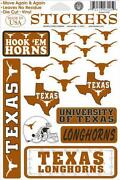 Texas Longhorns Stickers