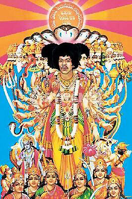 Jimi Hendrix Axis Bold as Love Album Art Poster Approx 24 x 36 Free US Shipping
