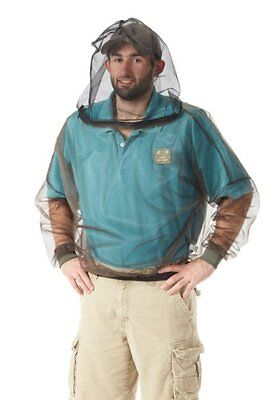 Bug Baffler Insect Protective Mesh Shirt, Olive, Large/X-Lar