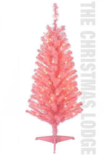 Pink Christmas Tree Ebay