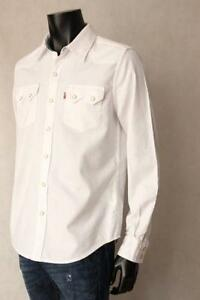 433bbecd5a Levis White Denim Shirt