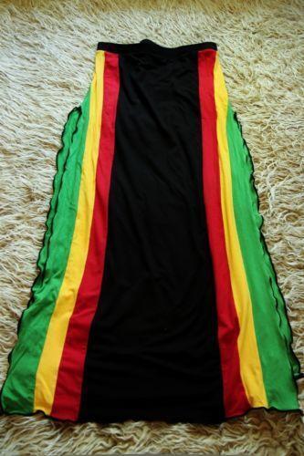 Rasta Skirt Ebay