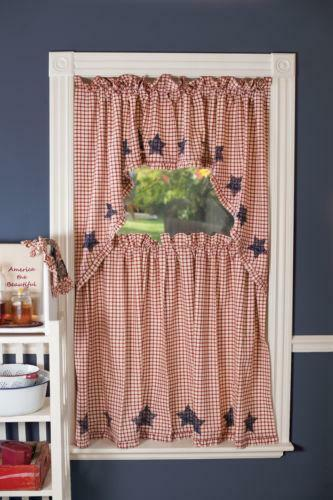 Americana Curtains Ebay