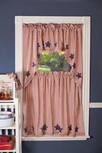 Americana Curtains | eBay