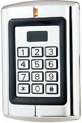 Metal Case Keypad Proximity Rfid Card Reader