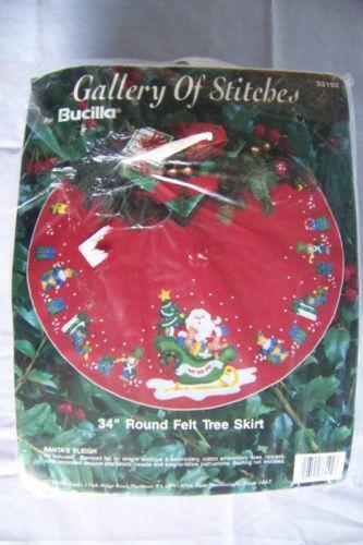 Felt Christmas Tree Skirt Kit