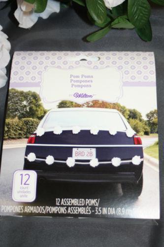 Wedding Car Decoration Ebay