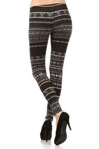 Sweater Print Leggings | eBay