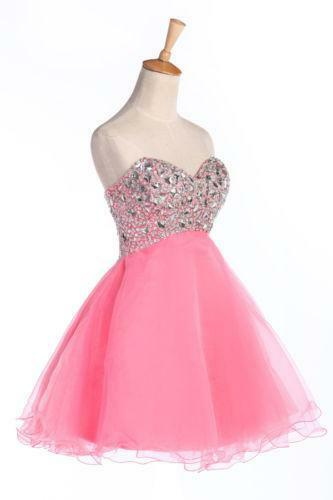 Short Princess Prom Dresses Ebay