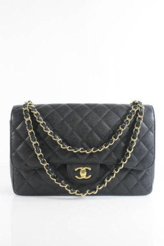 Chanel Handbag Black Large Ebay