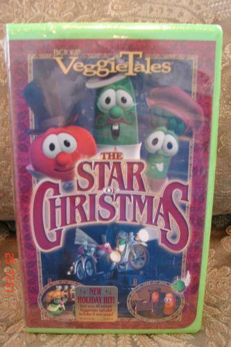 Veggietales The Star Of Christmas Vhs VeggieTales The Star o...