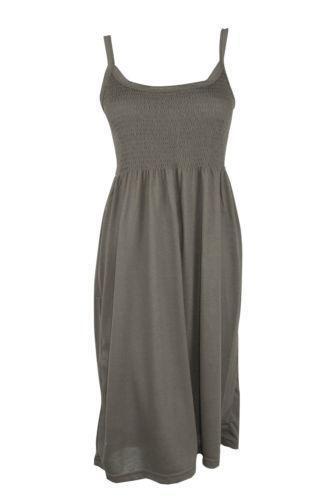 9f57bbcb5b01 Khaki MIDI Dress | eBay