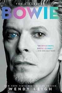 David Bowie book by Wendy Leigh-excellent condition soft cover