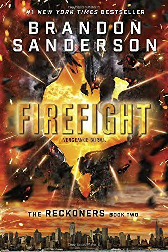 The Reckoners: Firefight Bk. 2-Brandon Sanderson