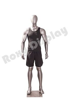 Male Fiberglass Sport Athletic Style Mannequin Dress Form Display Mc-jsm01