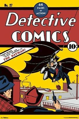 The first appearance of the Caped Crusader