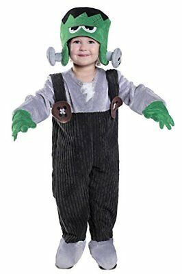 Kids Little Monster Halloween Costume, 18M/2T, BLACK, GRAY, GREEN - Green Monster Halloween Costume