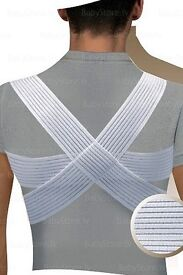 MEDICAL POSTURE CORRECTOR Support Brace Clavicle Splint Band Belt