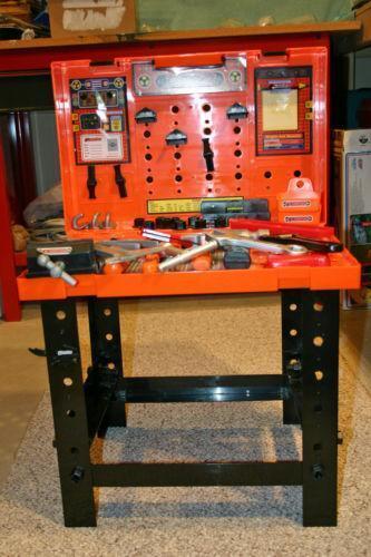 kids tool box ebay. Black Bedroom Furniture Sets. Home Design Ideas
