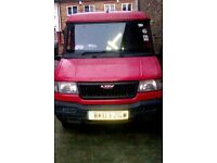 2003 LDV PILOT DIESEL panel van 2.5t @ 500 Or NEAR Offer pug 1.9l engine mileage 61500 good runner
