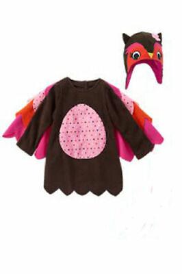 NWT Gymboree toddler girls Owl Halloween Costume and Hat 2T NEW Dress Up - Owl Halloween Costume Toddler